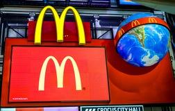 Le logo de McDonald Photos libres de droits