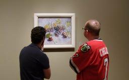 Le long arrêt à une peinture préférée 2 Images libres de droits