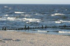 le long de la côte Photo libre de droits