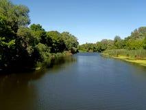 Le long du fleuve Images libres de droits
