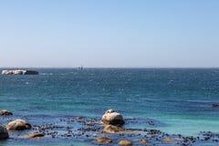Le long du Péninsule du Cap en Afrique du Sud image libre de droits