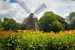 Le Long Island de moulin à vent Images stock