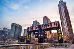 Le Long Island, New York City LES Etats-Unis Photographie stock libre de droits