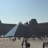 Le Louvre 免版税图库摄影