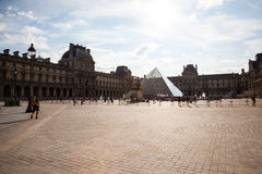 Le Louvre Foto de archivo