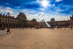 Le Louvre Zdjęcia Royalty Free