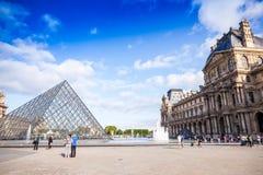 Le Louvre 图库摄影