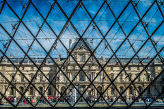 Le Louvre Stock Photos