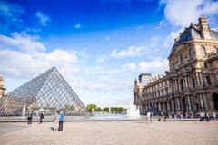 Le Louvre Stock Photography