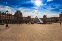 Le Louvre Royalty Free Stock Photos