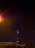 Torre di Ostankino Fotografie Stock