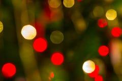 Le luci di Natale Immagine Stock