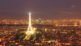 Le luci di Parigi immagine stock