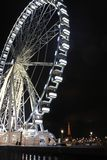 Le luci di Parigi alla notte Fotografia Stock