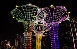 Le luci gradiscono la forma del vaso Fotografie Stock Libere da Diritti