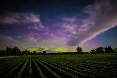 Le luci nordiche fotografia stock libera da diritti