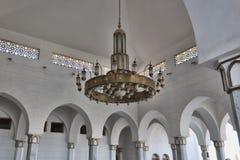 Le lustre de la mosquée image stock
