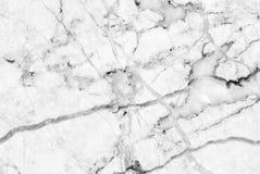 Le luxe de la texture et du fond de marbre blancs Photos libres de droits