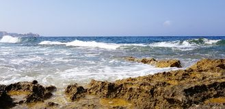 Le luxe de Malte lapide la baie image libre de droits