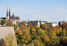 le Luxembourg Image stock