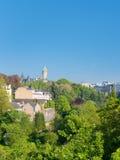 Le Luxembourg dans le début de la matinée photo stock