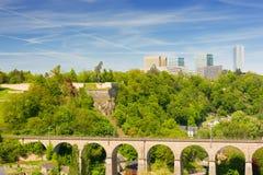 Le Luxembourg dans le jour d'été image stock