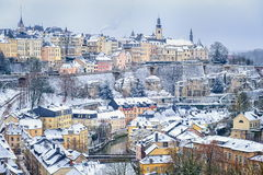 Le Luxembourg du centre Photographie stock