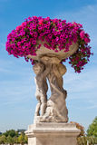 Le Luxembourg fait du jardinage statue ornementale, Paris image stock