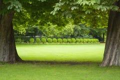 Le Luxembourg font du jardinage Photo libre de droits