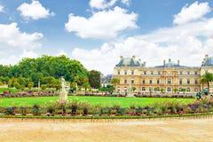 Le Luxembourg Palase Photo libre de droits