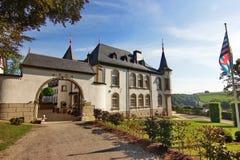 Le Luxembourg se retranchent converti dans l'hôtel confortable Images libres de droits