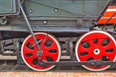 Le mécanisme de balancier du Soviétique se piquent la locomotive L de fret Photos stock