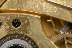 Le mécanisme des heures de poche. Image stock