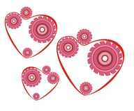 Le mécanisme du coeur illustration de vecteur