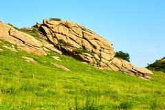 Le mégalithe de granit Images libres de droits