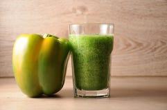 Le mélange, mélange des légumes verts, detox, concept de régime Photo stock