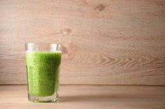 Le mélange, mélange des légumes verts, detox, concept de régime Photographie stock