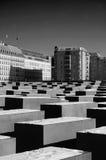 Le mémorial d'holocauste à Berlin Photographie stock libre de droits