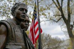 Le mémorial de guerre de Vietnam Photos libres de droits