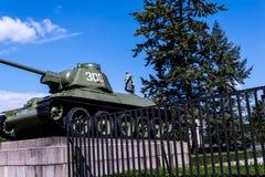 Le mémorial de guerre soviétique dans le Tiergarten en Berlin Germany Images libres de droits