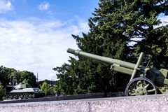 Le mémorial de guerre soviétique dans le Tiergarten en Berlin Germany Image libre de droits