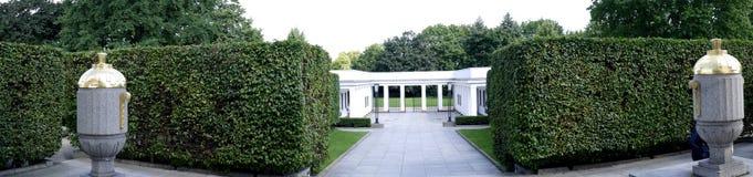 Le mémorial de guerre soviétique dans le Tiergarten en Berlin Germany Photographie stock