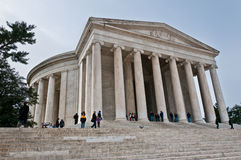 Le mémorial de Jefferson Photos libres de droits