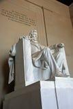 Le mémorial de Lincoln Images libres de droits