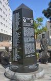 Le mémorial de porte-avions Images libres de droits