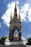 Le mémorial de prince Albert dans Hyde Park, Londres. Photos stock