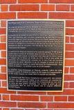 Le mémorial de Thiepval aux disparus de la Somme Photo stock