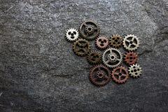 Le métal embraye le concept Image stock