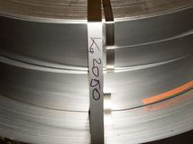 Le métal love l'usine Environnement industriel Image stock