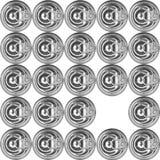 Le métal peut couvercle Photos libres de droits